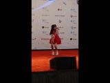 Fancam  170820  OH MY GIRL (YooA)  KCON 2017 LA Hi-Touch Event