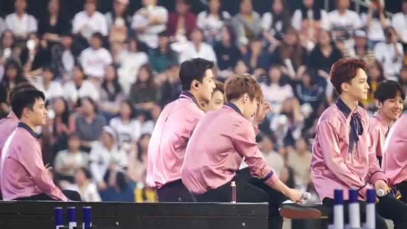 [FANCAM] 170528 EXO's Sehun @ The EXO'rDIUM[dot] in Seoul D-2