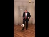 Сергей Неверов призвал россиян идти на выборы и передал эстафету футболистам