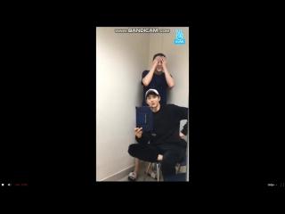 Cухо, Сехун, Чанель- прямой в v-live