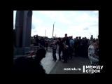 Открытие первой на Урале стелы памяти погибших байкеров