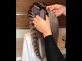 Плетение для длинных волос