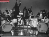 BUDDY RICH, Vs. (BattLe) Gene Krupa and Dancer Jr.SAMMY DAVIS ( EXCLUSIVE RETRO, 1952 )