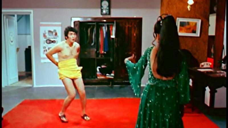 Сцена из индийского к/ф Бобби 1973 (советская озвучка) Риши Капур, Аруна Ирани