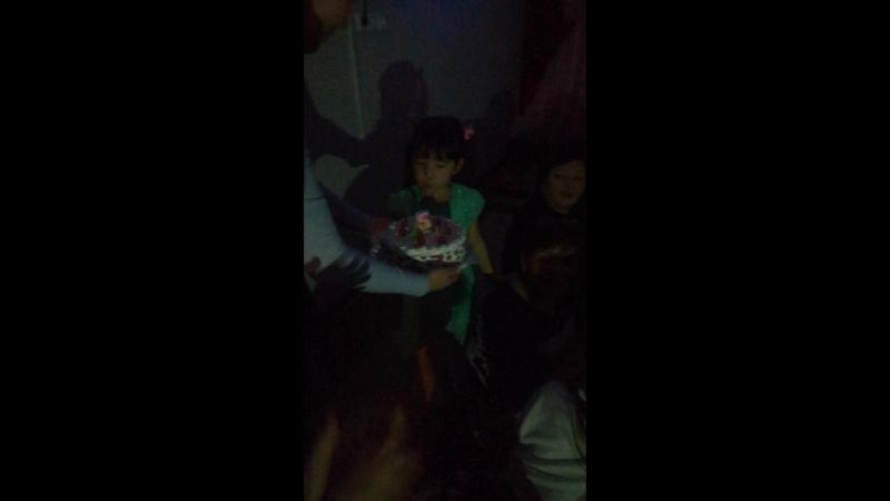 День рождения Д     День рождения Дарины