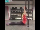 Crazy Crossfit Flexible Girl