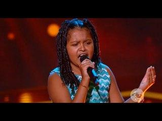 Maira Alejandra canta Es Demasiado Tarde - Audiciones a ciegas   La Voz Kids Colombia 2018