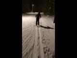 На лыжне!
