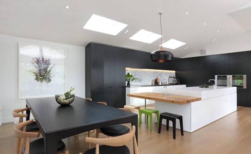 Черная мебель в интерьере — актуальный тренд