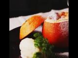 【もわもわ】オレンジのスフレ