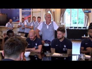 Гризманн не поздравил Варана с победой в Лиге чемпионов
