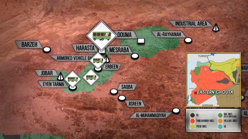 23 марта 2018. Военная обстановка в Сирии. Новое соглашение о вывозе боевиков из Восточной Гуты.
