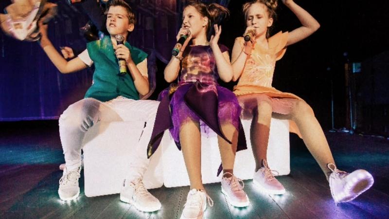 Детское музыкальное шоу - Гости из будущего
