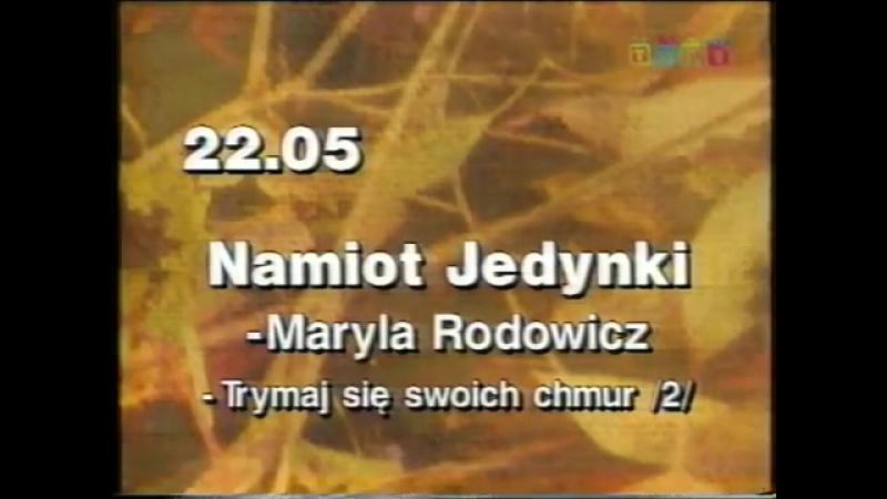 Программа передач и конец эфира (TVP1 [Польша], 02.01.1999)