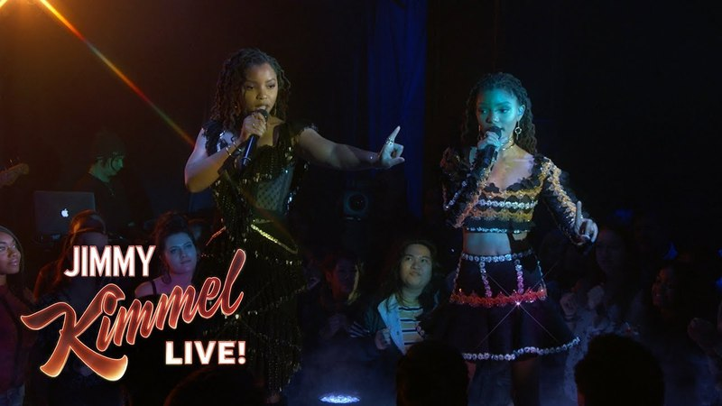 Chloe X Halle - Happy Without Me (Jimmy Kimmel Live)