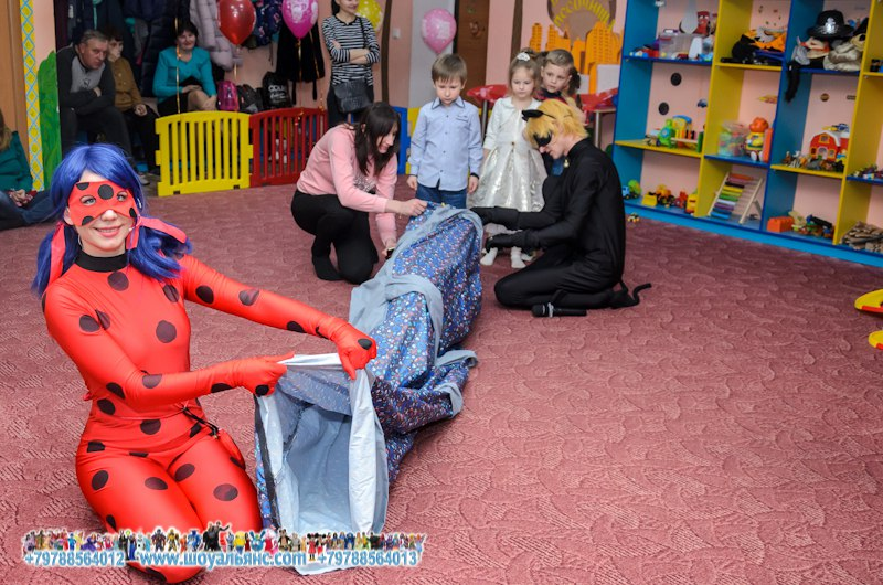 леди баг на детский праздник