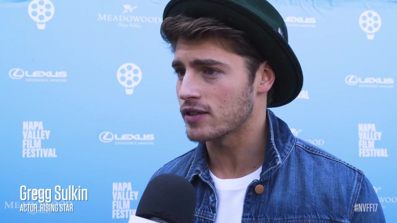 Gregg Sulkin on the Red Carpet NVFF17 Rising Star