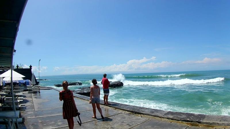 ✈ VLOG 9: ИНДОНЕЗИЯ    о. Бали    Большие волны    Храм Танах Лот    Кофе Лювак ☕