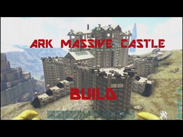 Ark Massive Castle Mansion Base Build Hadrians Wall Server Unofficial PC XB1 Server