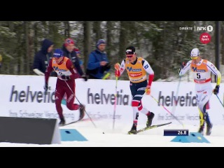 Johannes Høsflot Klæbo GREAT SPURT & WIN - Men's Sprint [C] Final - Lillehammer 2017