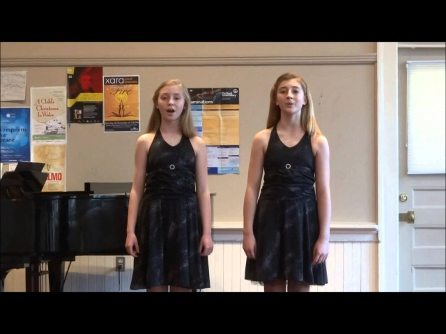 Makayla Lynn and Abigail - Josh Groban's Lullaby, 11 and 12 years old - Kiwanis Music Festival
