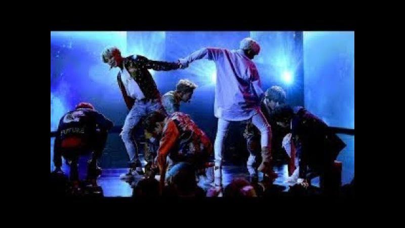 BTS (방탄소년단) 'DNA' Live on AMAs