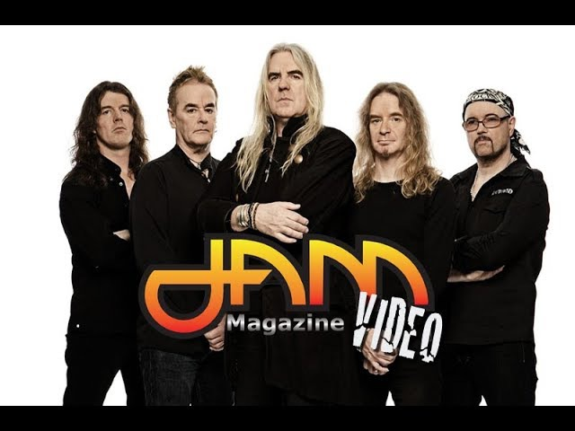 SAXON Interview Biff Byford Thunderbolt LP 2018 Tour JAM Magazine