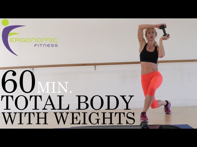 60 MINUTE TOTAL BODY WITH WEIGHTS - STRENGTH FAT BURNER