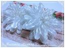 МК Нежный и воздушный цветочек из органзы Диаметр 15 см Aerial flower from organza 15 cm