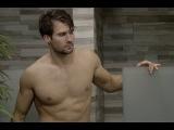 James Maslow Showering on Celebrity Big Brother