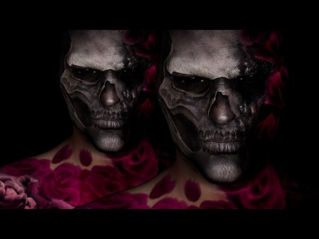 Valentine's Day Rose Skull | Jordan Hanz Collab!