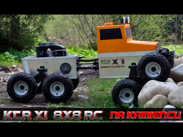 BIG RC scale 1:2 KTR-X1 8X8 NA KAMIEŃCU