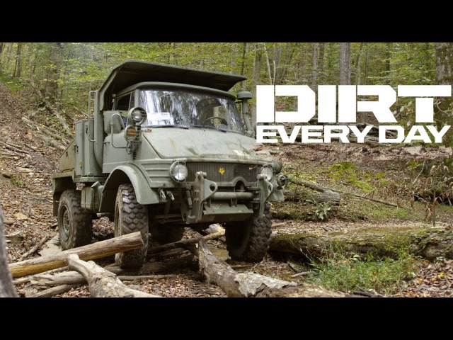 Unimog Road Trip to Memphis - Dirt Every Day Ep. 71