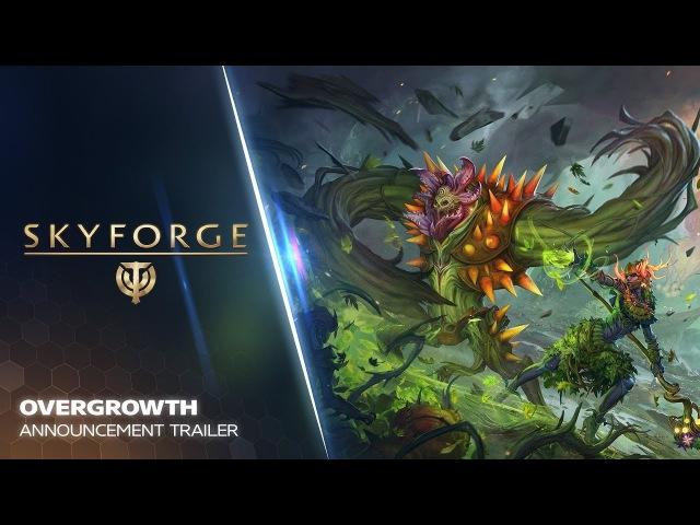 Skyforge - Overgrowth Announcement Trailer