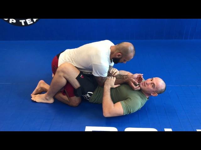 Видеоурок-3:нестандартный прием на руку с нижнего положения/lesson 3:arm bar from the lower position