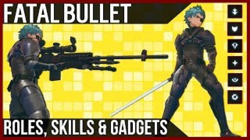 Class Roles, Skills Gadgets In Sword Art Online: Fatal Bullet