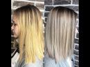 1 Окрашивание волос ❤️Лада Ким❤️ Шатуш исправление предыдущего окрашивания