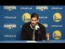 Omri Casspi Postgame Interview / Warriors vs Lakers / Dec 22
