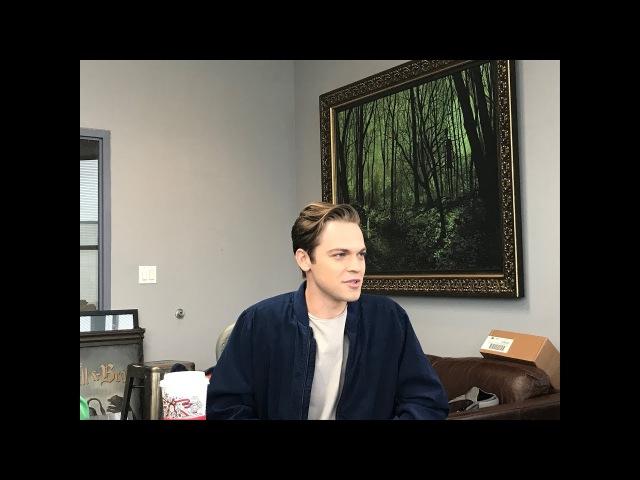 Supernatural Set Visit 2016 - Alexander Calvert Teases What's Next for Jack