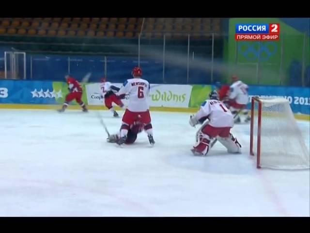 XXVI Зимняя Универсиада 2013 Трентино Италия Хоккей Мужчины 1 4 финала Россия Чехия Rutracke
