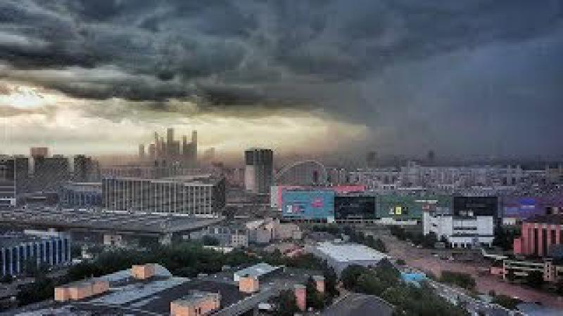 Moskvada qasırğa | Страшный ураган в Москве