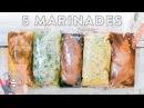 5 EASY DIY Chicken Marinades 3 Meal Ideas