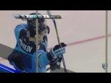 Моменты из матчей КХЛ сезона 1617  Гол. 41. Шумаков Сергей (Сибирь) забрасывает шайбу в большинстве 25.08