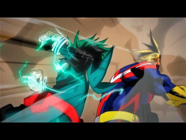 Midoriya Bakugou Vs All Might「 AMV 」Boku No Hero Academia Season 2 [Full Fight]