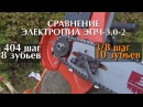 Выпущена самая быстрая электропила в мире! The most productive fastest electric chainsaw ever made!