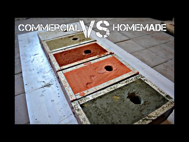 Commercial VS homemade molding sand