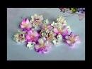 Kwiaty z foamiranu tutorial krok po kroku DIY kurs
