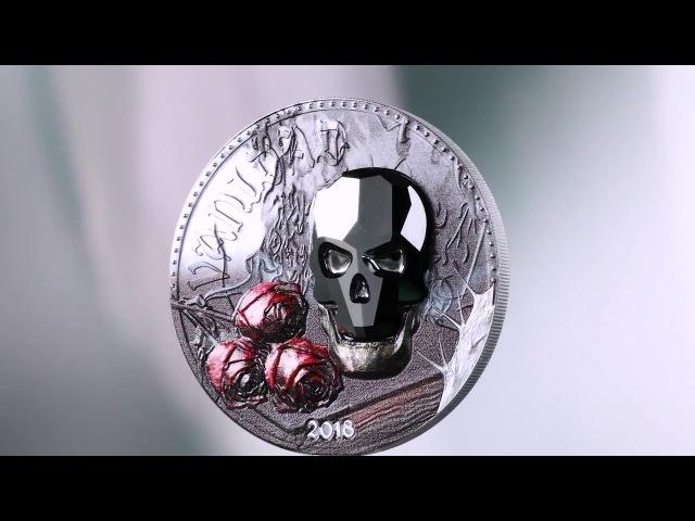 Монета Тщеславие серии Хрустальный череп