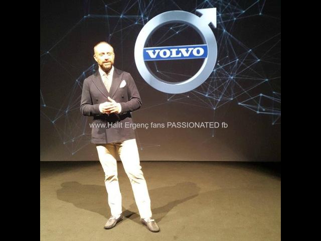 Халит Эргенч презентовал автомобиль Volvo S90💙 02.06.2016 год…✨