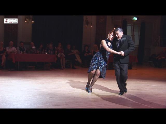 2017 Graciela and Osvaldo dance canyengue to Otoño at Cheltenham International Tango Festival